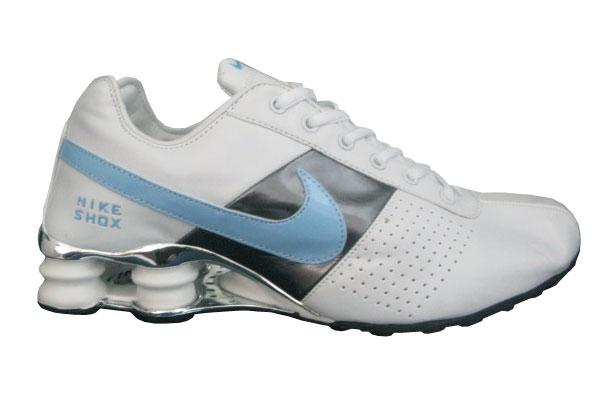 purchase cheap 0d7c4 a5060 ... Store Mix   Nike shox Classic Cromado Branco e Azul ...