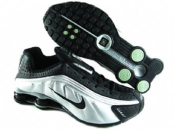 premium selection a9770 83451 Store Mix   Nike shox R4 Preto, Prata e Preto