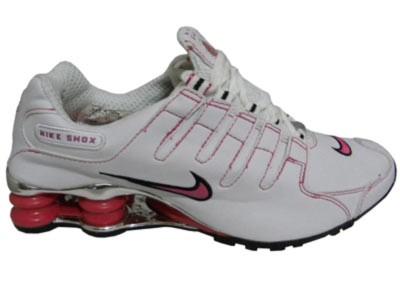 a83e264989 ... store store mix nike shox nz cromado branco e rosa 7caaa 6b781 ...