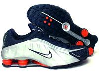 info for 50d9f 49f5b Store Mix   Nike shox R4 Cromado Preto, Prata e Vermelho